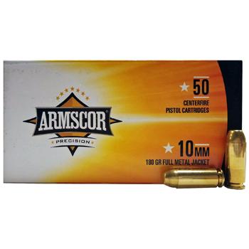 10mm 180gr FMJ Armscor Precision Ammo | 50 Round Box
