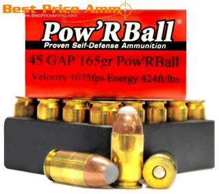 45 gap penetration