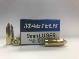 Buy This 9mm Luger (9x19mm) 124gr FMJ Magtech Ammo for Sale
