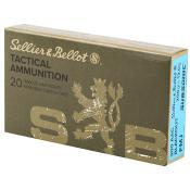 300 AAC Blackout 200gr FMJ Subsonic Sellier & Bellot Ammo | 20 Round Box